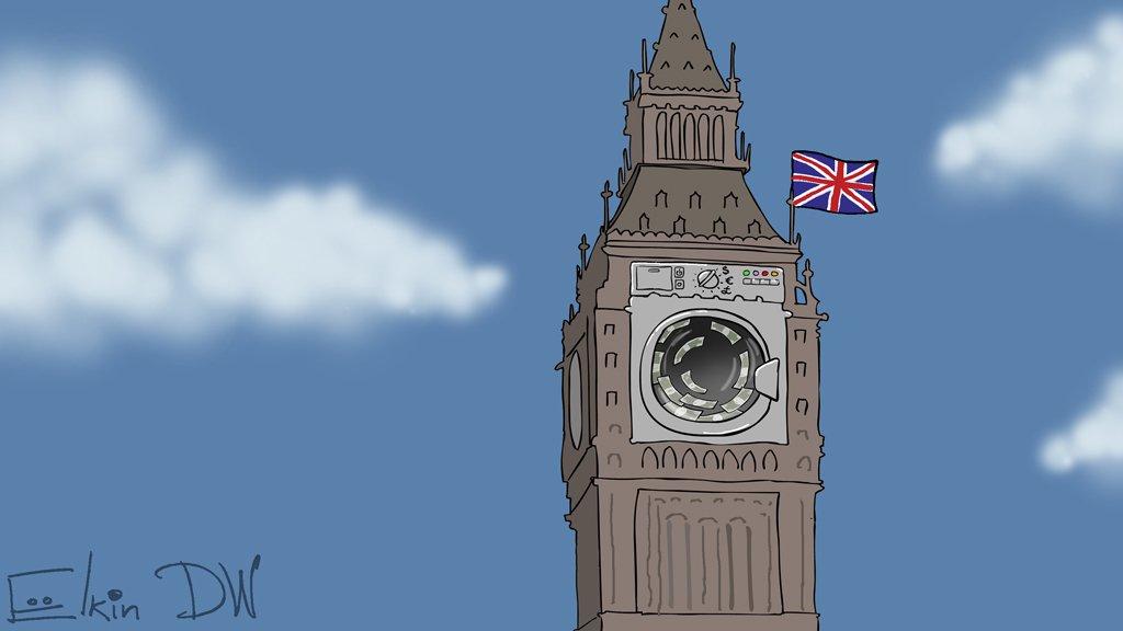 Большая стирка российских денег в Великобритании