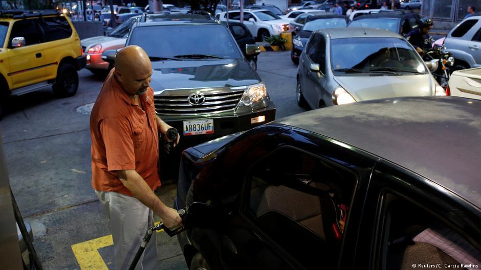 В Венесуэле дефицитом стал.... бензин