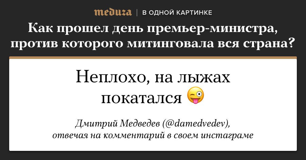 Чем занимался Дмитрий Медведев