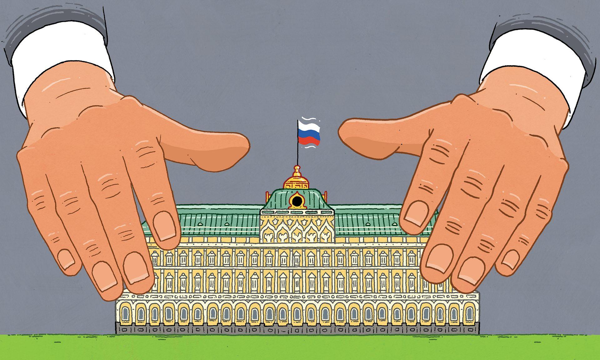 Россия — это дом, который построил Владимир Путин