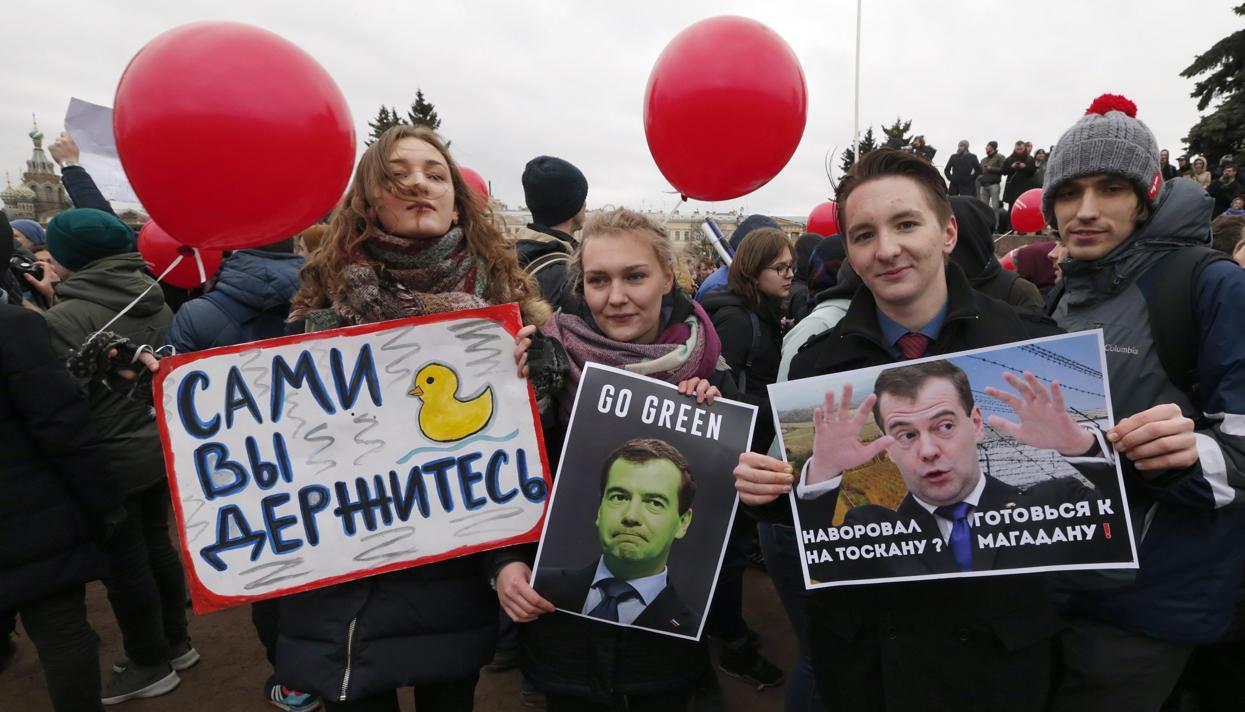 Что на самом деле вывело россиян на улицы