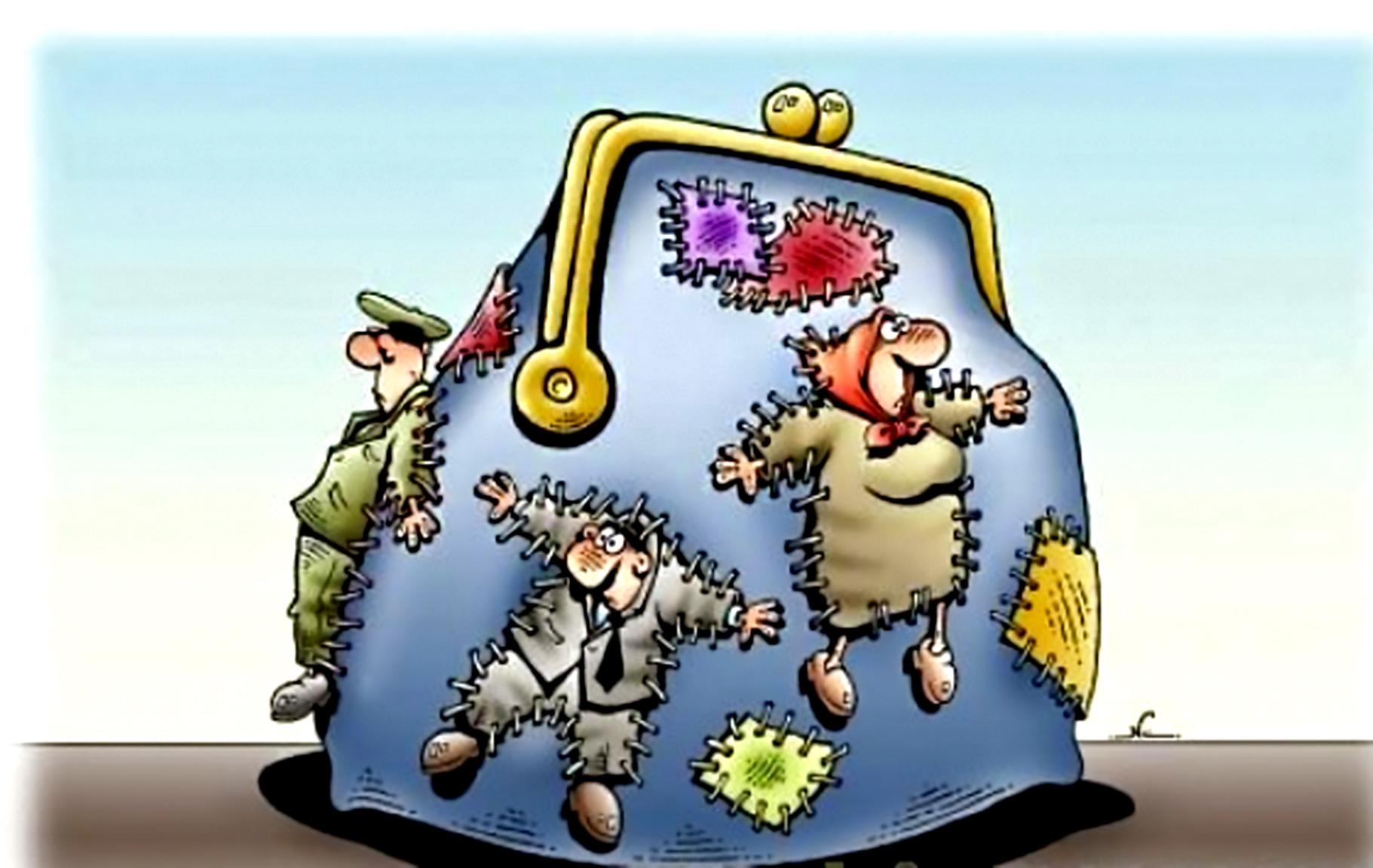 Правительство латает бюджет рекордными долгами