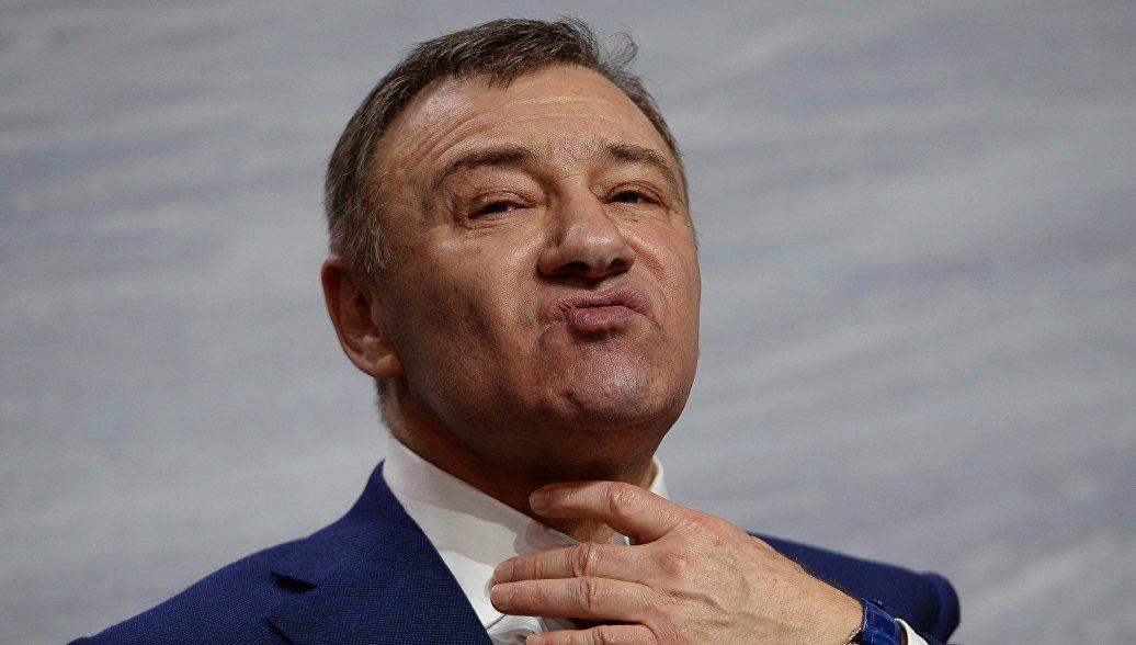 Аркадий Ротенберг поднялся
