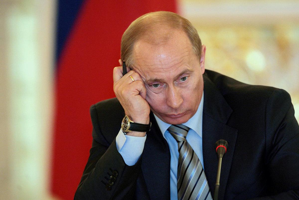 В России снизился уровень доверия к Путину