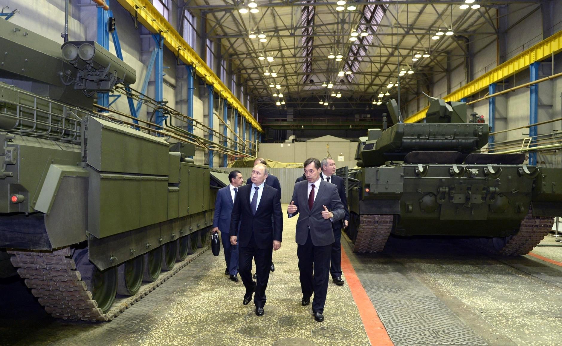 Путин надеется на рост продаж оружия