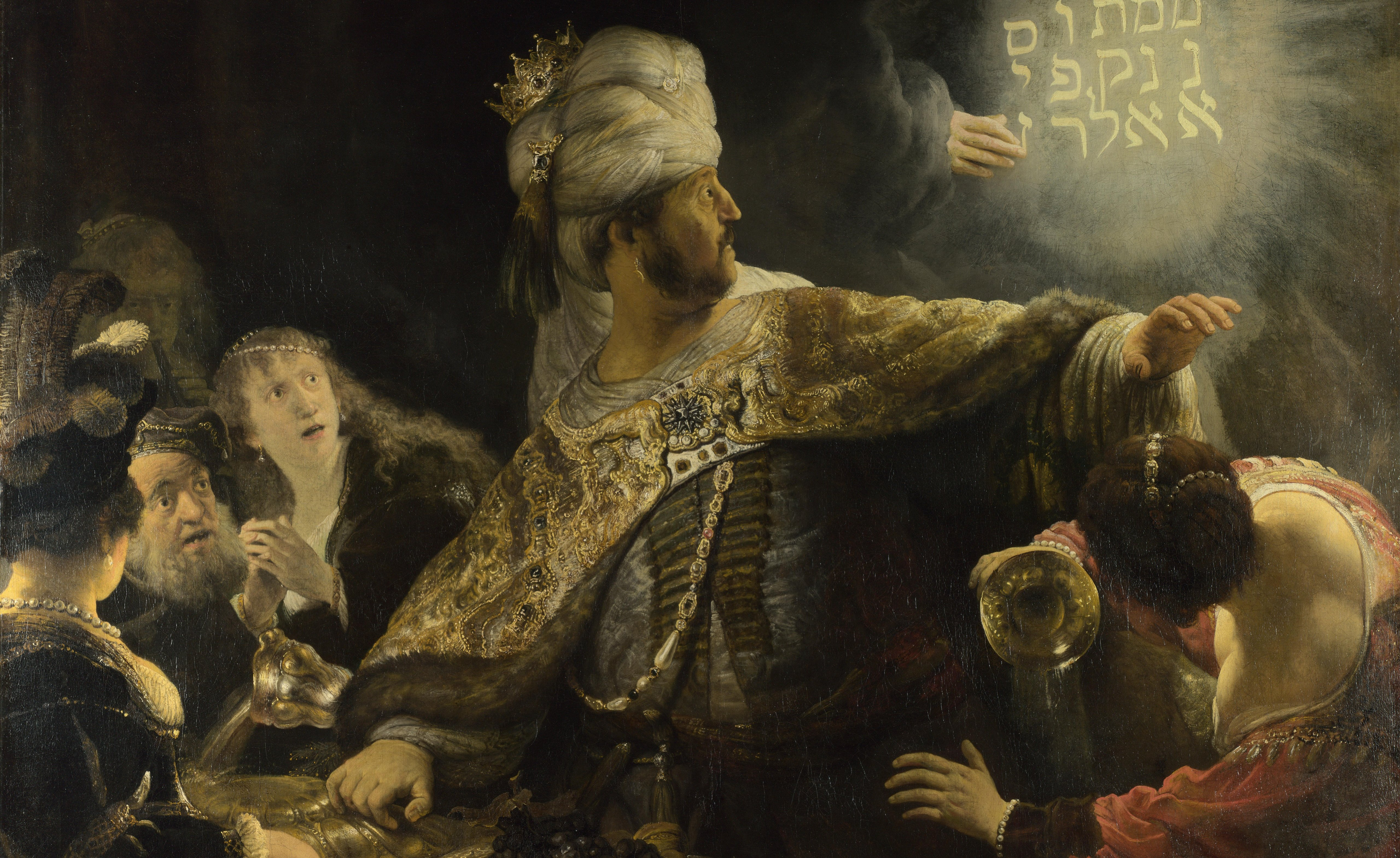 rembrandt-Пир Валтасара
