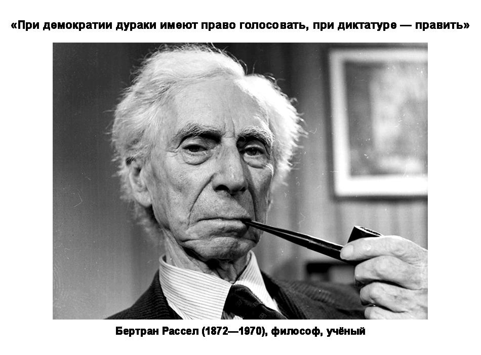 Бертран Рассел (1872—1970), философ, учёный