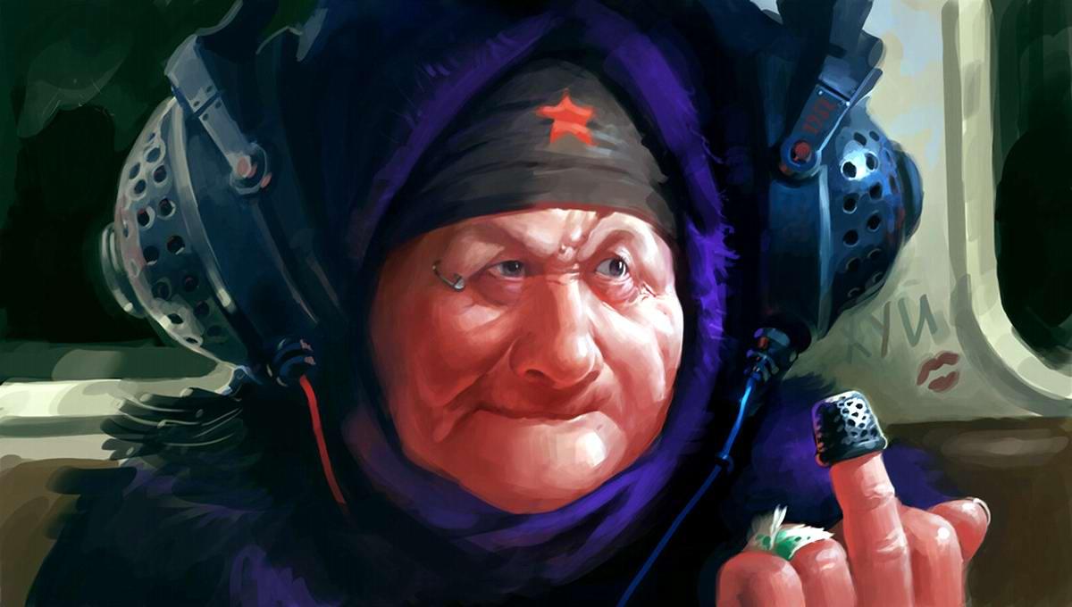 Пенсионер - враг народа!04
