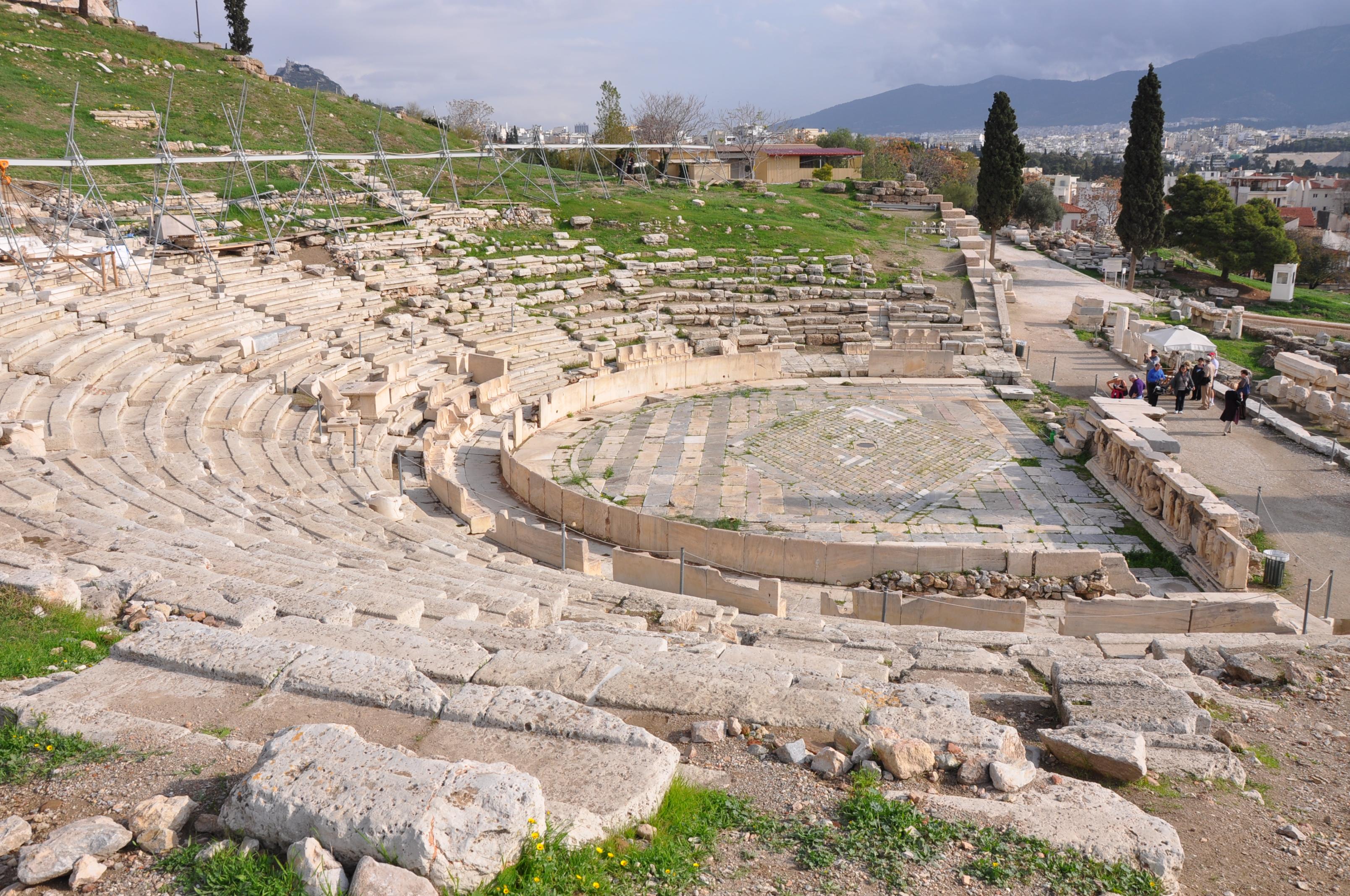 Lascar_Theatre_of_Dionysus_(4517133411)