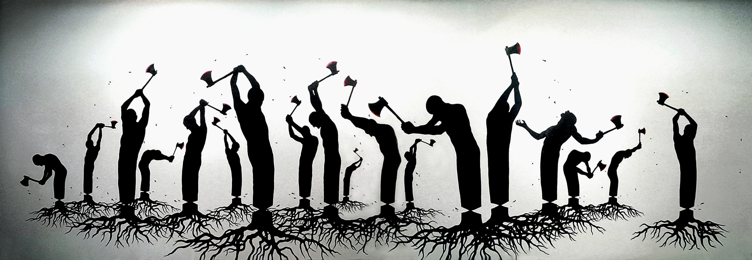 Деградация - это обрушение