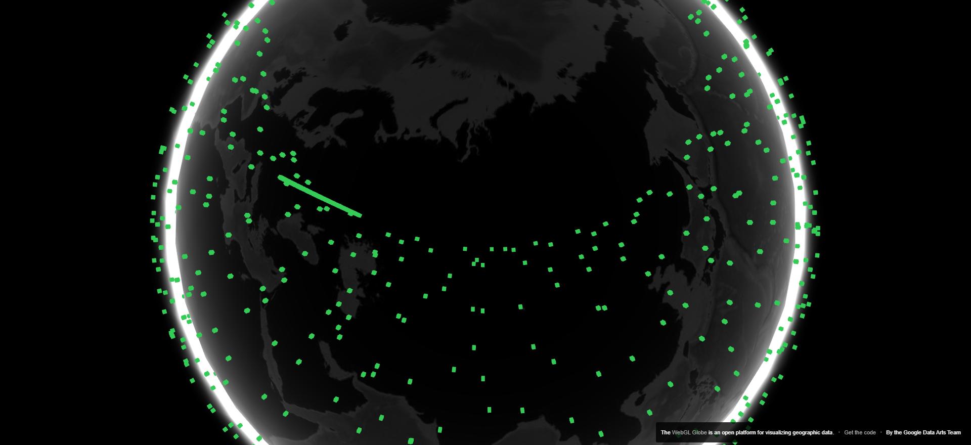 Карта покрытия starlink