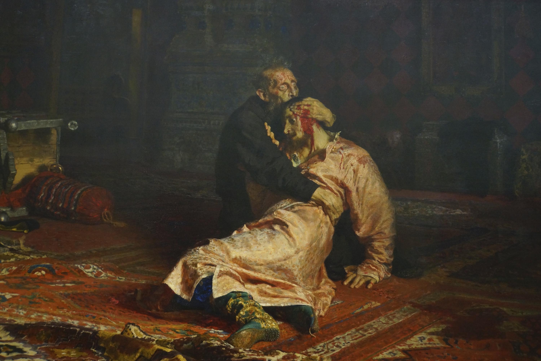 Вандал серьезно повредил картину Репина в Третьяковке, он задержан
