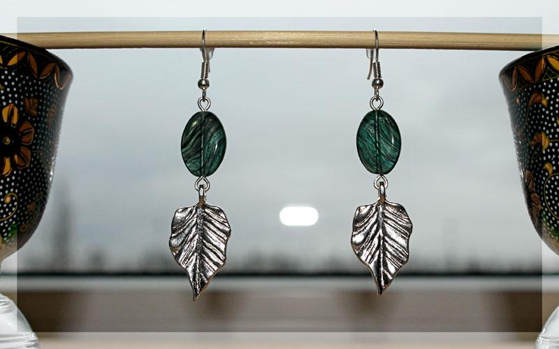 Серебряные листья 1