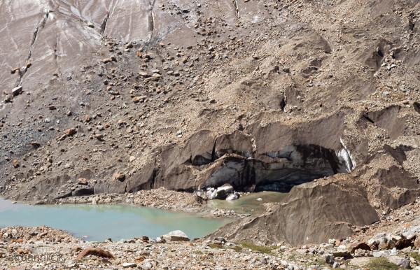 Как зарождается ледниковое озеро. Занскар, Индия