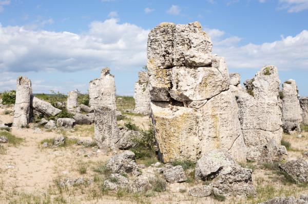 Болгария. Каменный лес. Побитите Камъни.