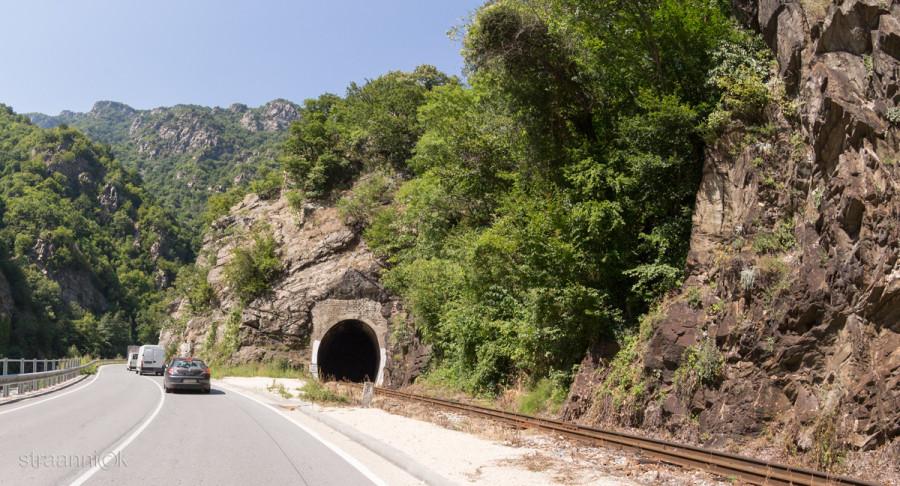 Ущелье Буйновско ждрело. Родопи, Болгария
