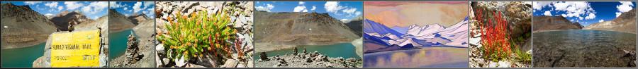 Озеро Бога Солнца, Suraj Taal. Гималаи, Индия