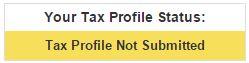 Фотосток, микросток Bigstockphoto. Tax Profile. Налоговый профиль
