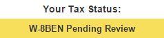 Фотосток, микросток Bigstockphoto. Tax Status. Налоговый статус