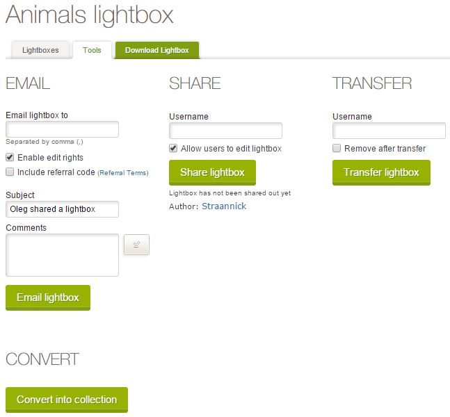 Фотосток, микросток Dreamstime. Управление лайтбоксами. Lightboxes management.