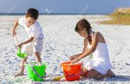 Фотостоки, микростоки. Темы (тренды) мая. Пляж, песок, ведёрко (Beach, Sand, Pail)