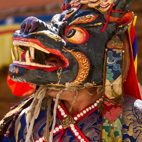 Танец Цам (Chaam Dance). Tibetan Religious Dances