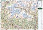Непал. Карты горного массива Аннапурна и окрестностей. Nepal. Maps of Annapurna conservation area and surroundings