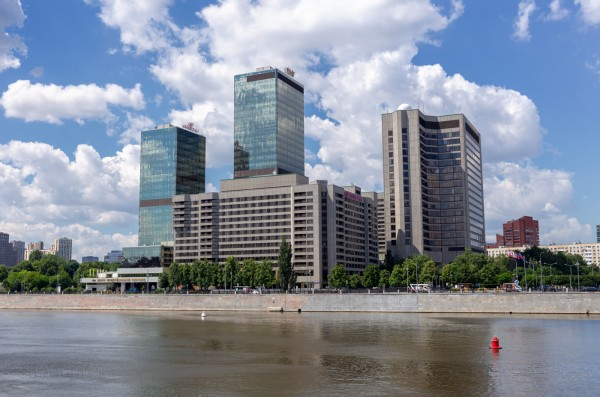 Москва река, Moscow River, World Trade Center