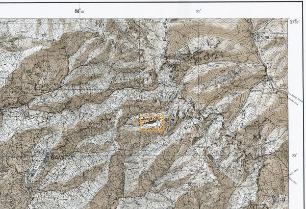 Maps of India. Sikkim Himalaya, 2001. Scale 1:150000. Карты Индии. Гималаи и Сикким, масштаб 1:150000