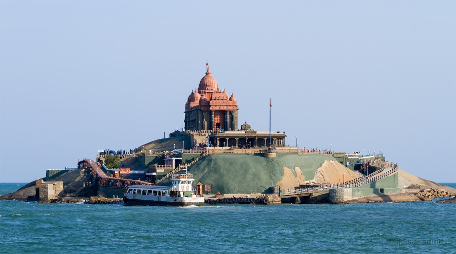 Мемориал Свами Вивекананды (Каньякумари, Индия).