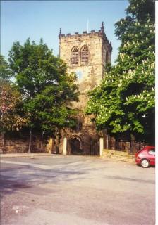 Parish church, Darfield, Yorkshire