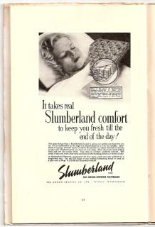 Slumberland advert