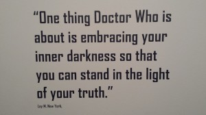 Fan quotation, Bradford Doctor Who exhibition