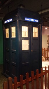 Phono Paul's TARDIS, Bradford Doctor Who exhibition