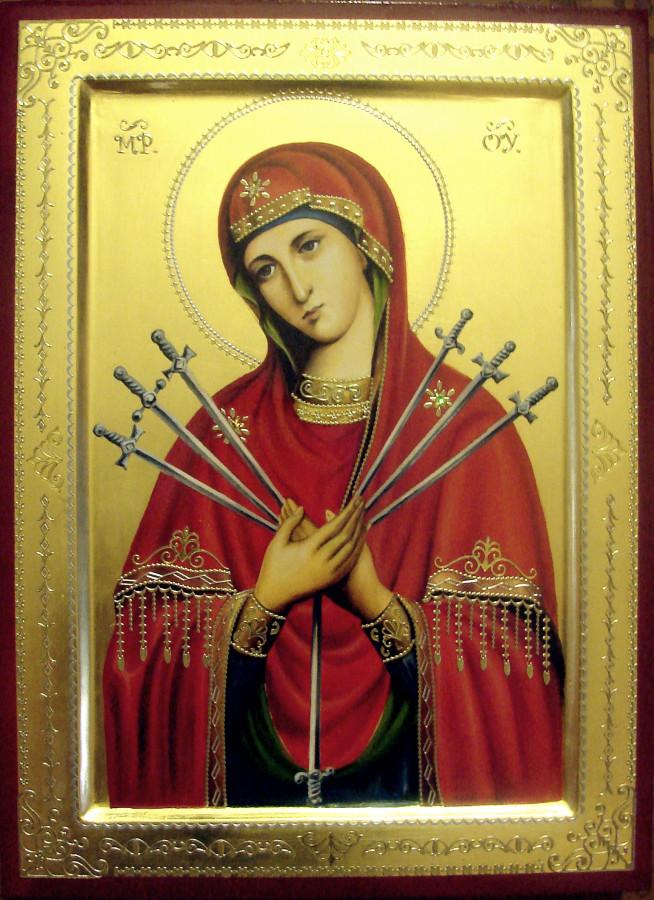 Образ Пресвятой Богородицы Семистрельная