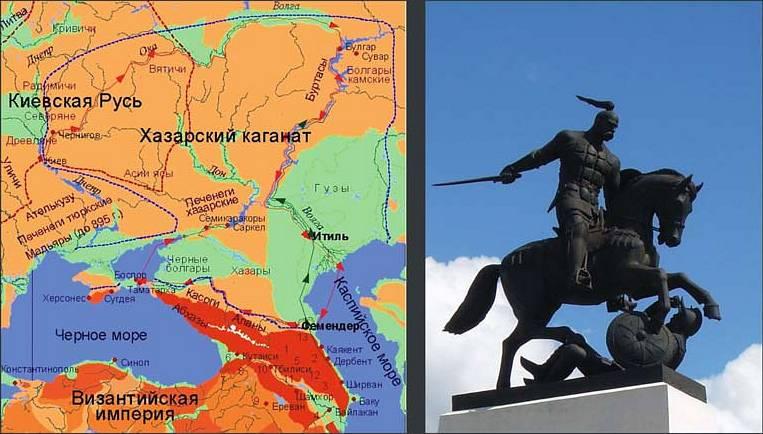 Святослав поход на Хазарию