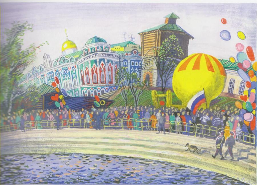 или рисунки к дню города воронежа байкам