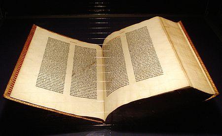 450px-Gutenberg_Bible_Mainz_Copy