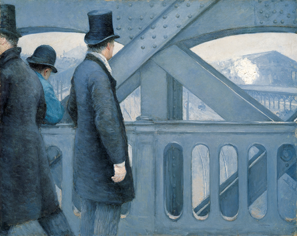'On_the_Pont_de_l'Europe',_oil_on_canvas_painting_by_Gustave_Caillebotte,_1876-77,_Kimbell_Art_Museum