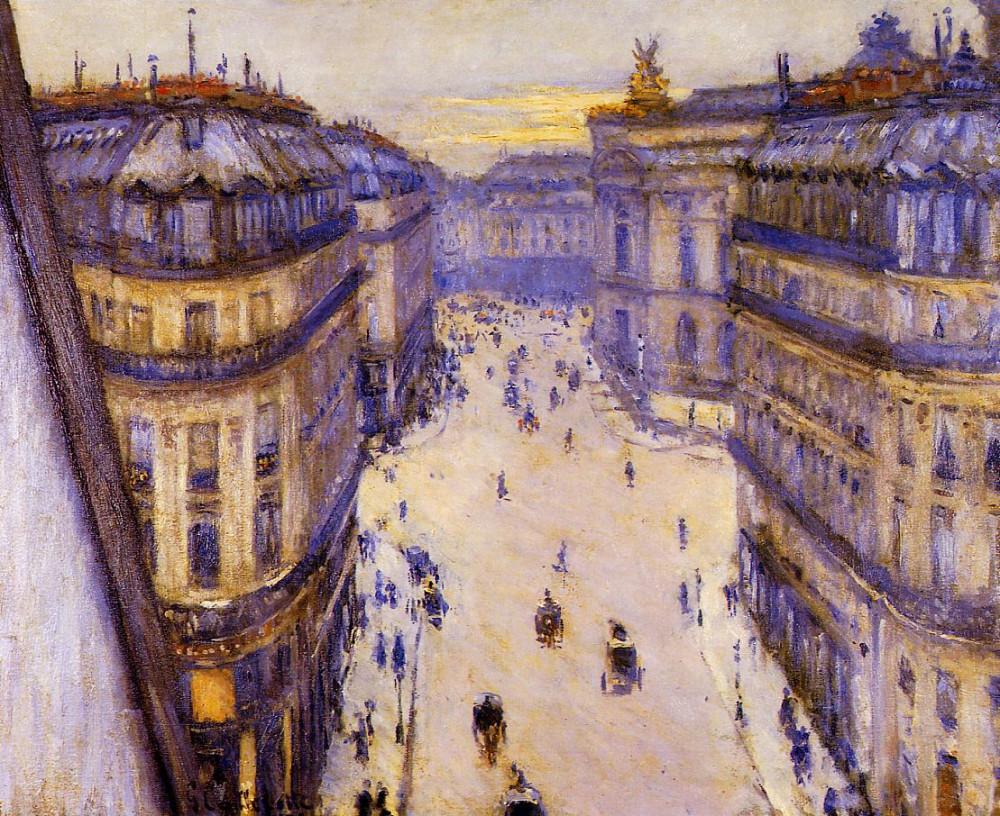 Gustave_Caillebotte_-_Rue_Halévy,_vue_d'un_sixième_étage