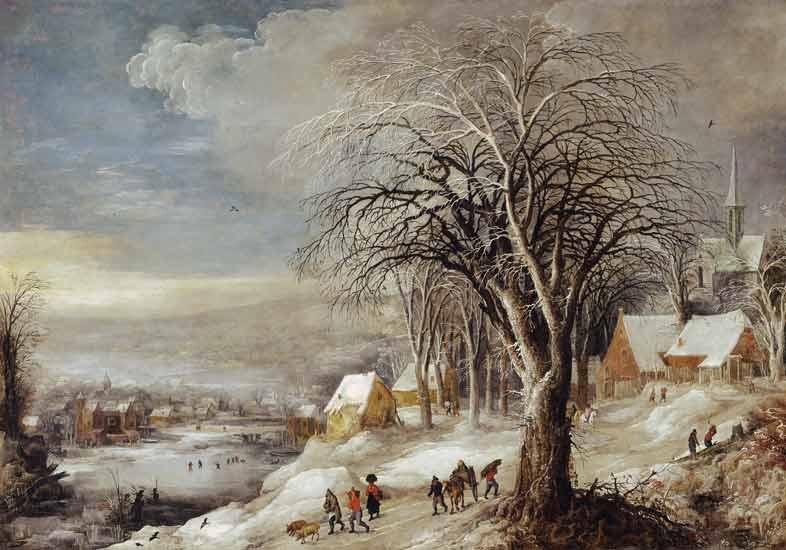Joos+De+Momper-Winter+Landscape