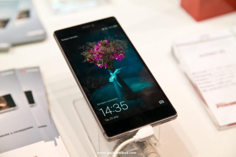 В Минске состоялась презентация нового телефона Huawei P8. Обзор и фотографии Huawei P8