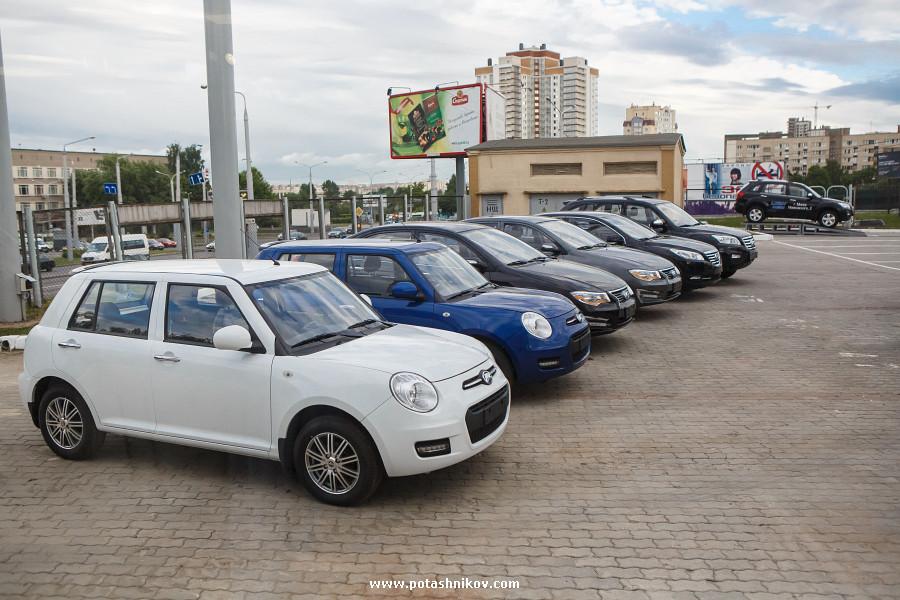 Фотографии с открытия салона китайских автомобилей Lifan в Минске. Вся правда о захвате авто рынка!