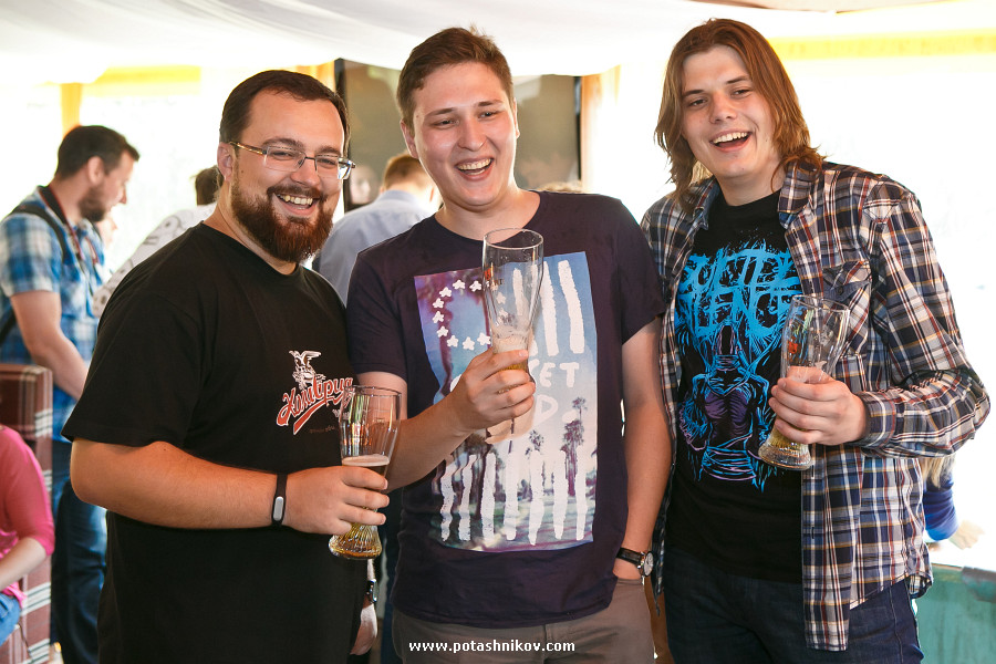 Презентация нового крафтового Лидского пива. Журналисты впервые увидели новый продукт!