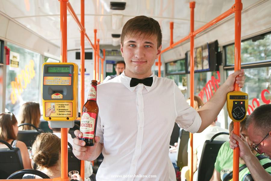 Как мы пили пиво в трамвае и нам за это ничего не было. И это не сон! День рождения Чапского в Минске