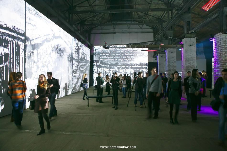 Фотографии с открытия мультимедийной выставки - Ван Гог. Ожившие полотна - в Минске