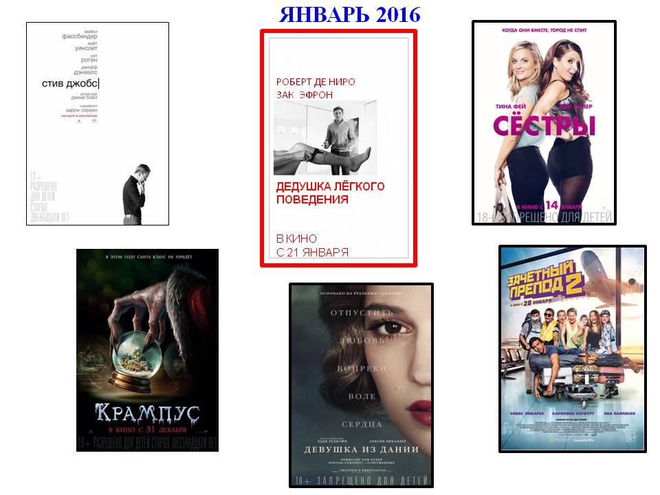 Новинки кино 2016 года - чем нас порадуют и какие фильмы смотреть в 2016 году
