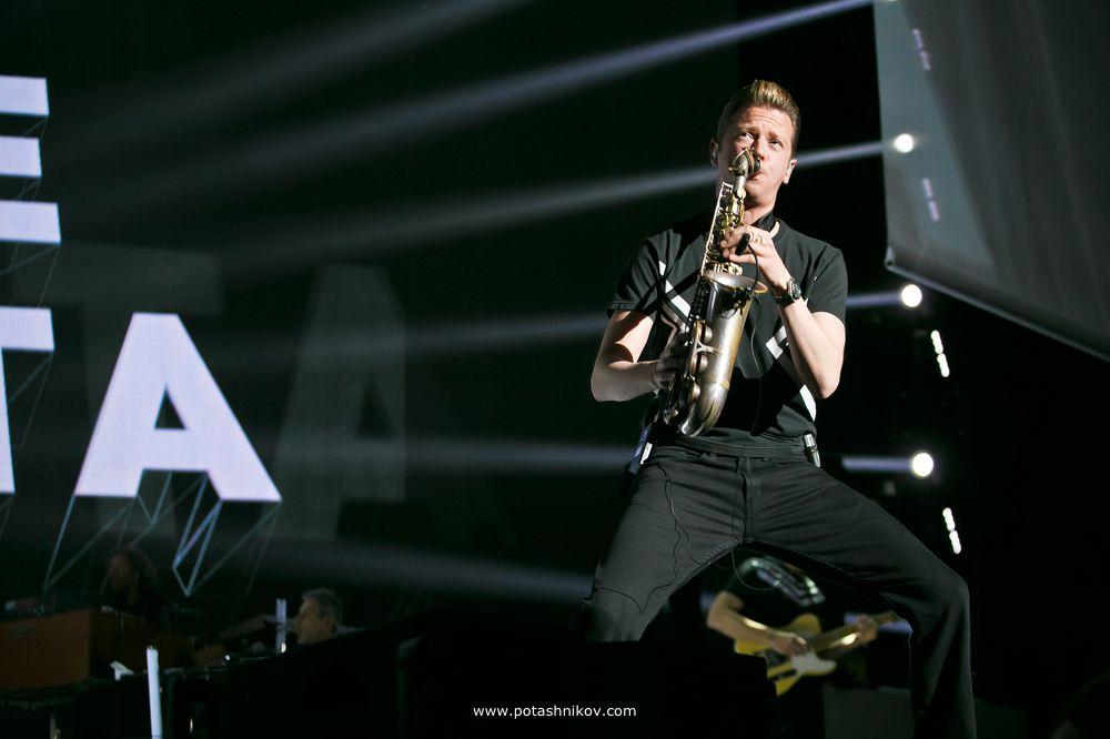 Фотографии с концерта Эроса Рамазотти (Eros Ramazzotti) в Минске