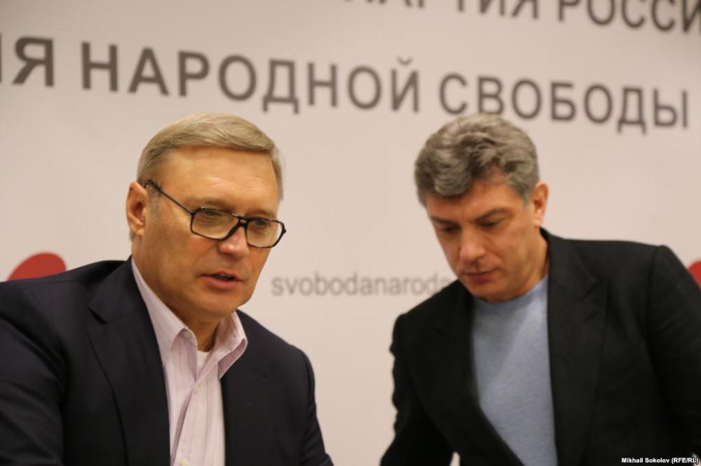 Касьянов и Немцов