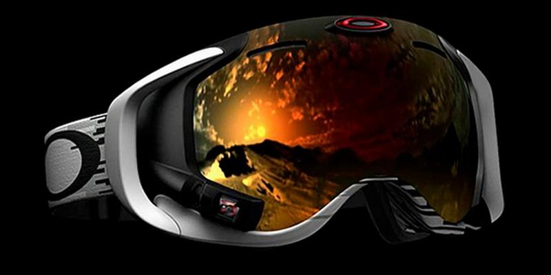 Вот это вещь - горнолыжная маска с интерактивным экраном